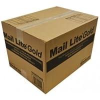 Correo Lite MLG a/000con sobres, 110mm x 160mm, oro burbuja (Pack de 100)