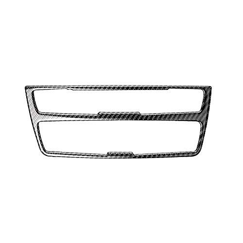 Noblik Kohle Faser Streifen Klimaanlage Cd Panel Dekorative Abdeckung Trim Auto Innen Ausstattung Auto Styling Aufkleber FüR F30 F34 Rex Trim