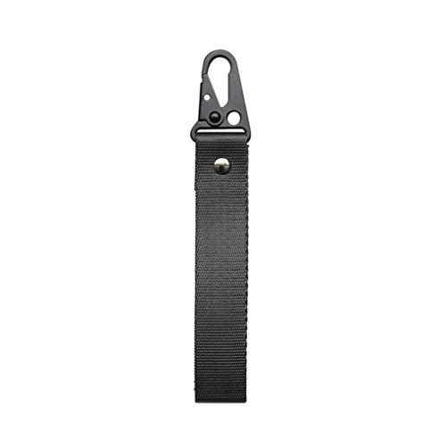 leoboone Universal Car Keychain Lanyard Hanging Bügel-Schlüssel-Seil mit Clip Buckle Quick Release Schlüsselanhänger Band Gurtband