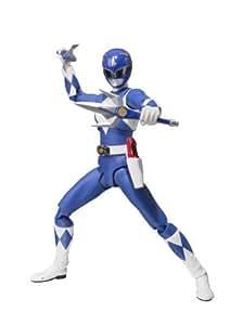 "Bandai Tamashii Nations S.H. Figuarts Mighty Morphin Blue Ranger ""Mighty Morhin Power Rangers"" Action Figure by Bandai Tamashii Nations"