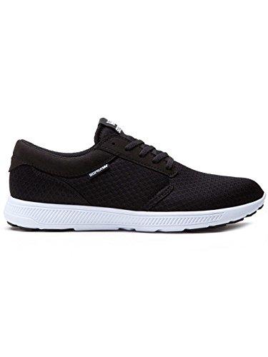 Supra Hammer Run, Sneakers Basses Adulte Mixte Black White