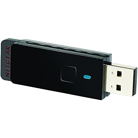 Netgear WNA3100-100PES Adattatore USB Wireless N300 Mbps,