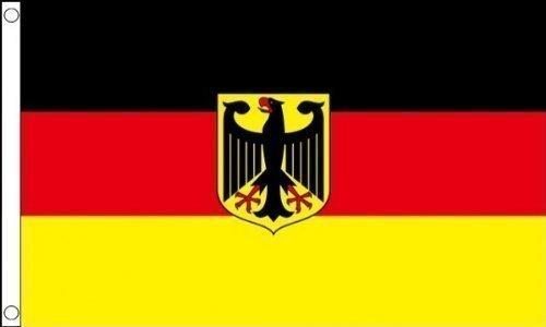 5 ft x 3 ft 150 x 90 cm Allemagne d'État allemande 100% Polyester Grand Drapeau bannière Tissu idéale pour Festival bar Club l'activité Décoration de Fête