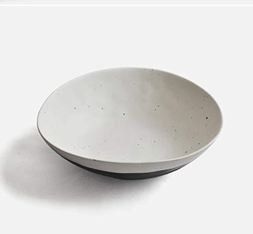 STTHOME Saladier Bol de Nouilles Céréales Bol Usages Multi Vaisselle en céramique Bol de Riz Bol Bol ménage grès Ramen Bol Bol à pâtes Bol à Salade Bol de céréales Bol 1 Paquet