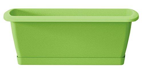 Prosper Plast ise400p-370u 39,2x 18,4x 14,5cm'Espana' Balkon-Set Fall mit Ständer–Oliv...