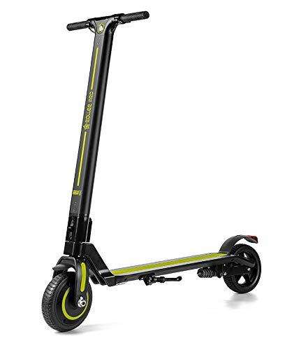 Roller Pro RP-URBAN6VR Elektro-Scooter 6.0 A, Brushless Motor 250 W, MAX. Geschwindigkeit 24 km/h, faltbar, inkl. App, Lithium-Batterie, Grün, 6.0 A