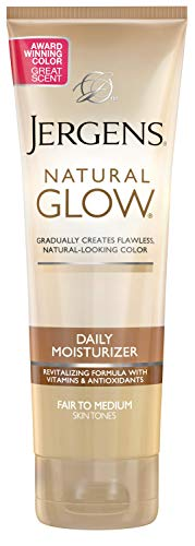Jergens Natural Glow Daily Moisturizer (Fair to Medium) Körperselbstbräuner