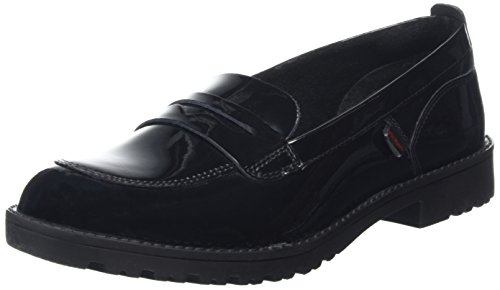 Kickers Women's Lachly Loafers, Black (Black), 5 UK 38 EU