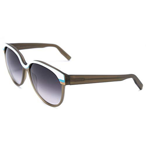 Italia Independent Damen 0049-001-000 Sonnenbrille, Braun (Marron), 55.0