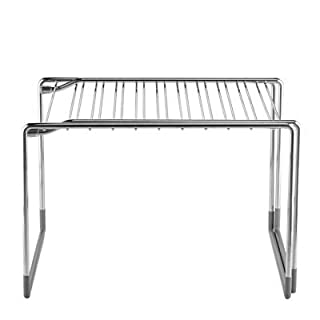 Lakeland Adapt A Shelf Extendable Storage Shelf - Easily Organise Cupboards