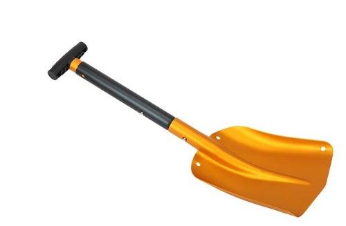 Lawinenschaufel, 3 teilig, ausziehbar, orange