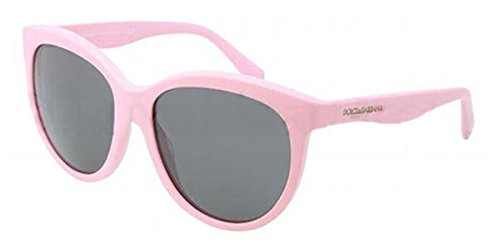 Dolce & Gabbana Für Frau 4149 Matte Pink / Grey Kunststoffgestell Sonnenbrillen