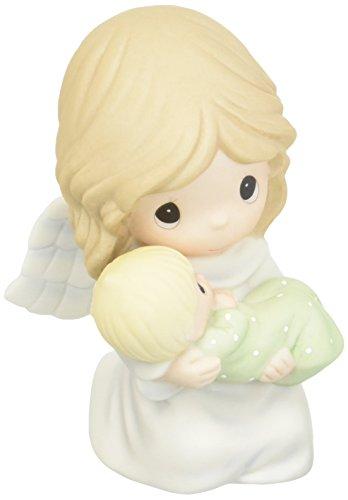 Precious Moments 152007Sicher in den Armen der ein Engel, Bisque Porzellan Figur -