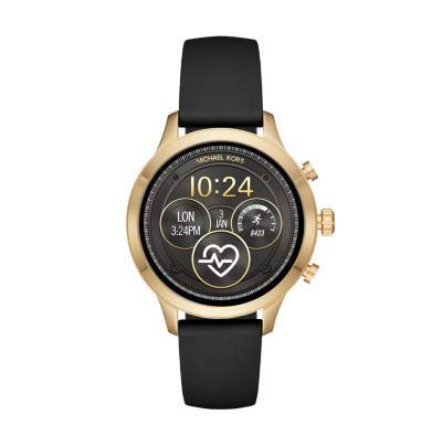Michael Kors Womens Smartwatch with Silicone Strap MKT5053