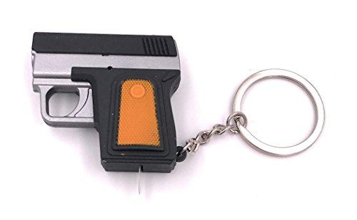 H-Customs Pistola con suono e luce a LED come portachiavi