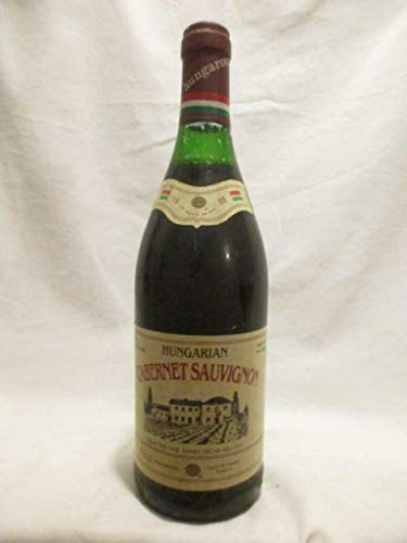 villany selected wines cabernet sauvignon rouge 1985 - hongrie