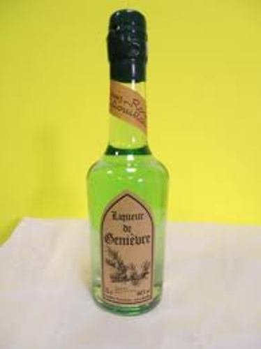 liqueur de genievre bouteille tradition 70cl presente en etui louis roque