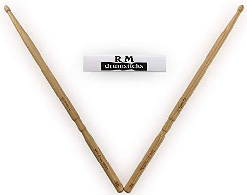RM drumsticks - victoria II Premium - speziell für Anfänger - 5B, Hickory, Lasergravur