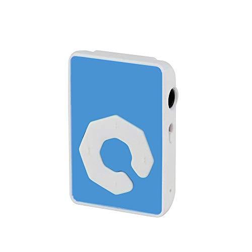 OSYARD MP3 Player,Musik Player,Clip USB Mini MP3 Music Media Player Touch-Taste Kinder Sport Musik Player für Joggen,Wandern oder Camping,Unterstützt 32 GB Micro TF/SD Karte und Kopfhörer