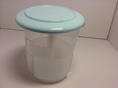 Tupperware Exclusiv Tafelperle Pikantus 1,3 Liter Aqua türkis Gurkenlift Gurken Lift Oliven Schafskäse Eingelegtes