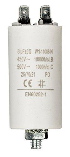 Fixapart W1-11008N Condensateur 8.0uf/450V + terre