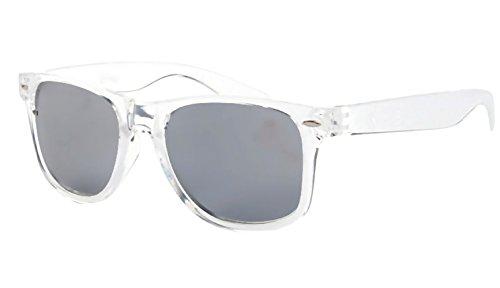Inception Pro Infinite (Silber) Sonnenbrille - Männer - Frauen - Unisex - Polarisiert - Spiegel - Retro - Quadratisch