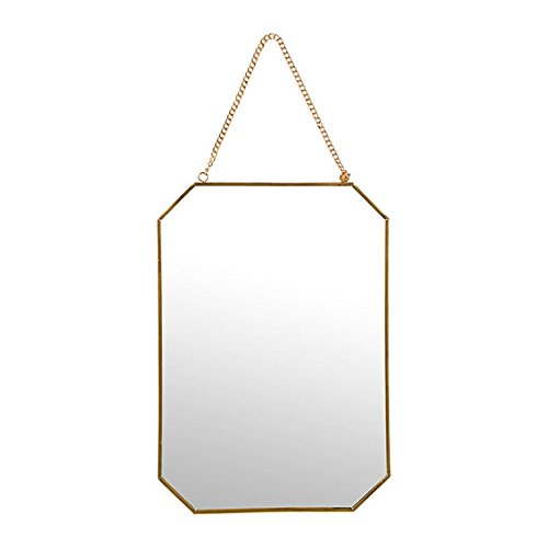 Sema-98963-espejo-de-pared-hexagonal-gran-modelo-Metal-oro-005-x-21-x-30-cm