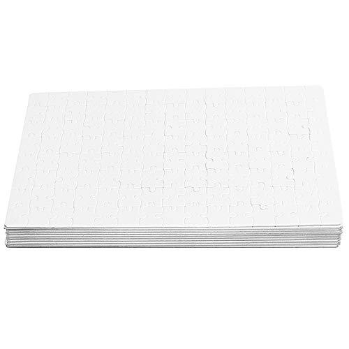 SODIAL 10 Stücke A4 DIY Thermo Transfer Papier Blank Dye Sublimation Druckbare Puzzle für Transfer Presse Maschine Sublimieren Schaffen Einzigartiges Geschenk -