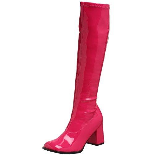 Pleaser Gogo300/yl, Damen Stiefel, Pink (Hot Pink), 40 EU