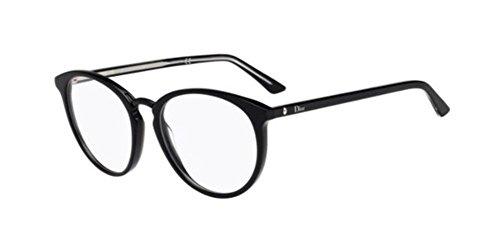 Dior Damen MONTAIGNE39 VSW 52 Sonnenbrille, Schwarz (Black Cry)