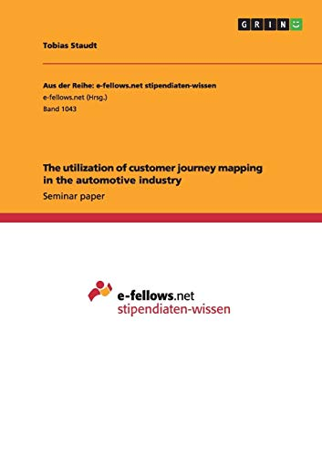 The utilization of customer journey mapping in the automotive industry - Finance Automotive