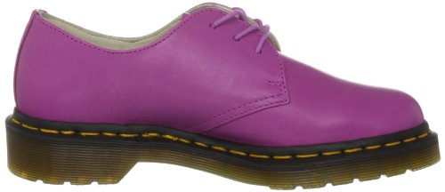 Dr. Martens 1461 Cartegena 10084420, Scarpe basse donna Nero (Blackcurrant Pink Smooth)