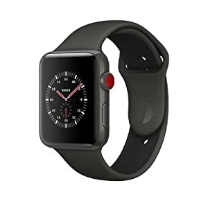 Apple Smartwatch 42 mm Keramik grau