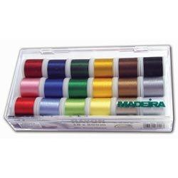 Madeira 8040 Stickbox Stickgarn Rayon 18 Spulen à 200 m