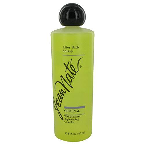 JEAN NATE von Revlon für Damen. AFTER BATH SPLASH 15 oz / 443 ml -