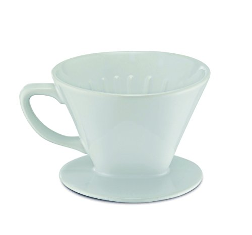 Kerafactum - Filter Kaffee Kaffeefilter Größe 4 Aroma Aufsatz für Café Filtertüten aus...