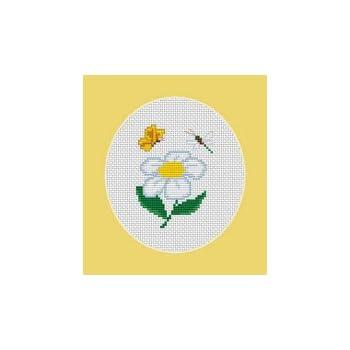 Sunflower Cross Stitch Kit Luca S Beginner 9cm x 7cm