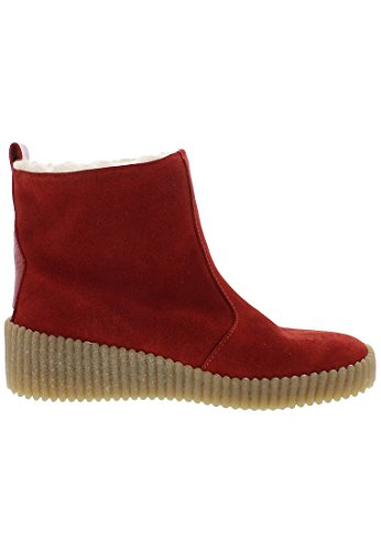 Fly London Alan, Women's Ankle Boots Red/Red