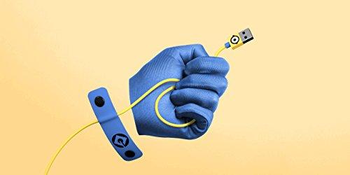Tribe Minions Carl Micro Line/USB Ladekabel 120 cm, USB-A-Stecker auf Micro-USB-B-Stecker für Android Smartphone