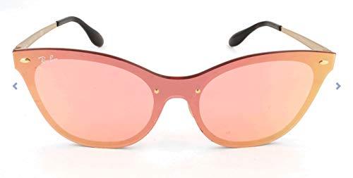 Ray-Ban RAYBAN Damen Sonnenbrille 3580n Brushed Gold/Pinkmirrorpink 43