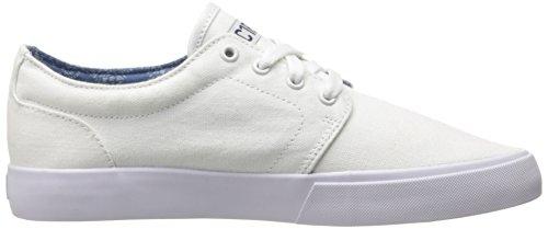 C1RCA DRIFTER CDRFPALO Unisex-Erwachsene Sneaker White/Dark Denim