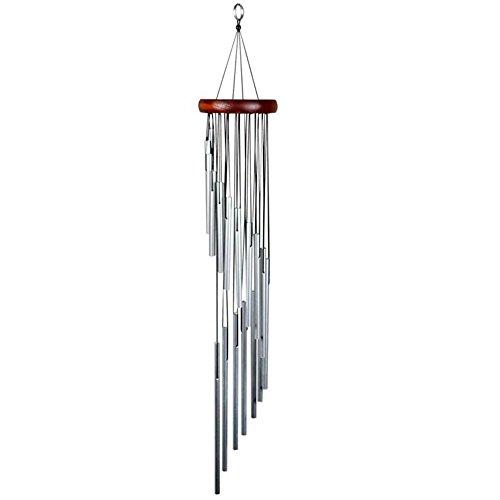 Carillon à Vent Tubes Carillon à Vent Extérieur Vent Carillon Pendentif Suspendu Solide Bois Pitch Pipe Grand Vent Carillon Cadeau Décoration De La Maison Ornement