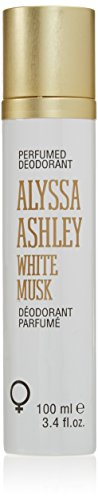 Alyssa Ashley White Musk Deodorant Spray, 100 ml