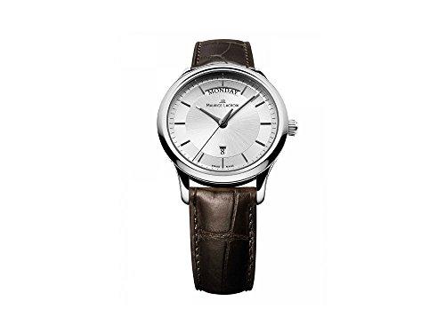 Maurice Lacroix Les Classiques Day/Date Quartz Uhr, 38mm, LC1227-SS001-131-2
