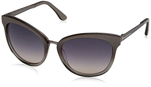 Tom Ford Damen FT0461 59B 56 Sonnenbrille, Beige/Altro/Fumo Grad