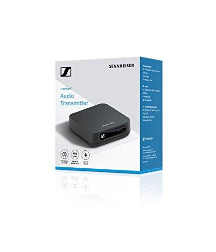 Sennheiser BT T100 Bluetooth-Audio-Transmitter für Hi-Fi oder Home Entertainment Schwarz - 4