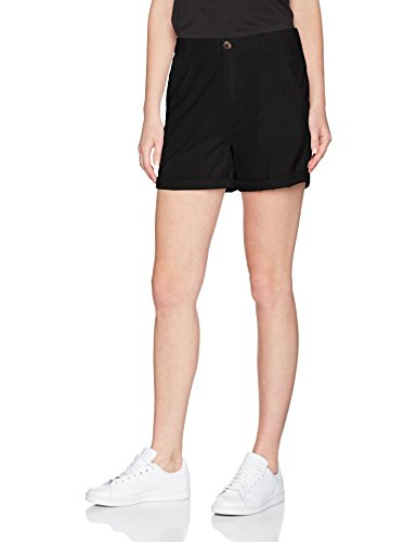 edc by ESPRIT Damen Short 047CC1C006 Schwarz (Black 001), 36