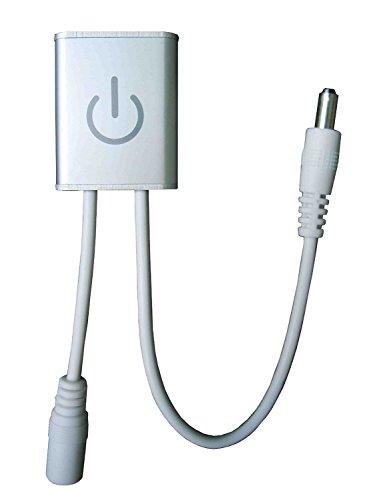 TopEs Itouch Dimmer Schalter zum Dimmen Touch Technik Regler für Streifen Strip LED-Leisten etc.
