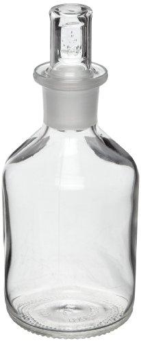 Corning 61500–500Pyrex Plus 500ml schmal Mund Zylindrische Reagenz Aufbewahrung Flasche mit Standard Taper Stopper (Mund Labor-reagenz-flasche Schmalen)