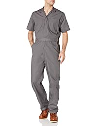 Amazon Essentials Stain & Wrinkle-Resistant Short-Sleeve Coverall Homme